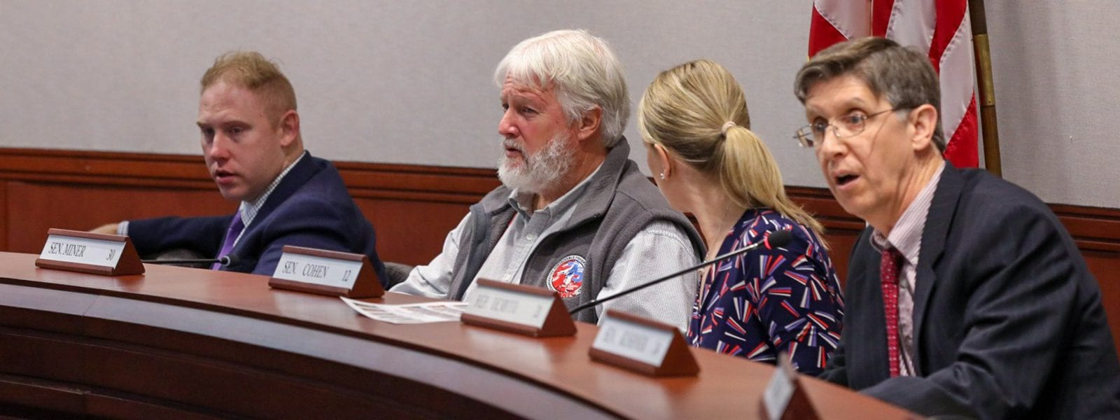 Sen. Miner Encourages Bi-Partisan Solutions for General Assembly's Environment Committee;  Several Waste and Recycling Concepts to be Drafted as Raised Bills during 2020 Legislative Session